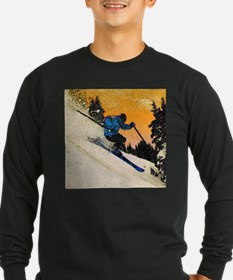 skier1 Long Sleeve T-Shirt