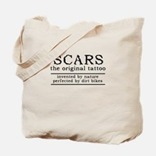Scars Original Tattoo Dirt Bike Motocross Funny To