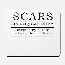 Scars Original Tattoo Dirt Bike Motocross Funny Mo