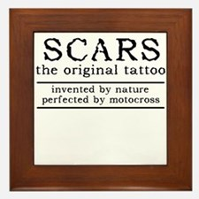 Scars Original Tattoo Dirt Bike Motocross Funny Fr