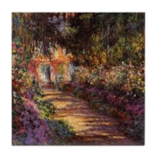 Pathway at Giverny Tile Coaster