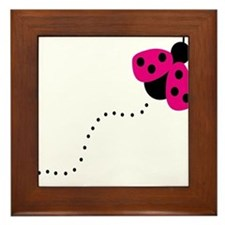 ladybird Framed Tile