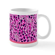 Lilly Pulitzer Purple & Pink Giraffe Print Mug
