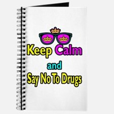 Crown Sunglasses Keep Calm And Science On Journal