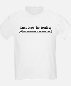Excel Geeks for Equality T-Shirt