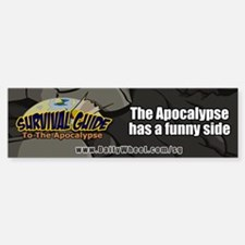 Survival Guide To The Apocalypse Bumper Bumper Bumper Sticker