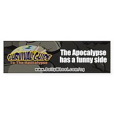 Survival Guide To The Apocalypse Bumper Bumper Sticker