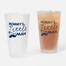 Mommy's Little Man Drinking Glass