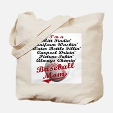 Baseball_Mom Tote Bag