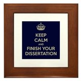 Keep calm Framed Tiles