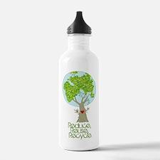 Unique Reduce reuse recycle Water Bottle
