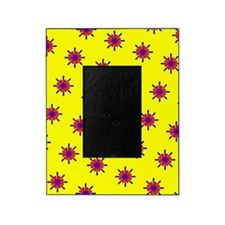 Red Blue Yellow Ditto Crests 47 Designer Picture Frame