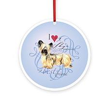 Skye Terrier Ornament (Round)