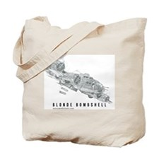 Blonde Bombshell Tote Bag