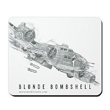 Blonde Bombshell Mousepad