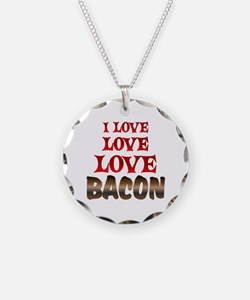 Love Love Bacon Necklace