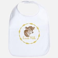 Fresh Milk with Young Calf Bib