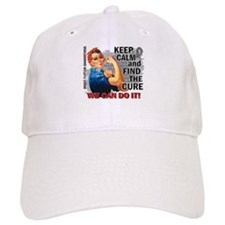Rosie Keep Calm Brain Tumor Hat