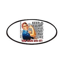 Rosie Keep Calm Brain Tumor Patches