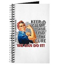Rosie Keep Calm Brain Tumor Journal