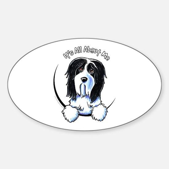 Bearded Collie IAAM Sticker (Oval)