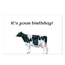 Roxy Holstein Cow Postcards (Package of 8)