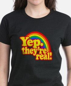 Yep. Theyre Real! (Retro Look) T-Shirt