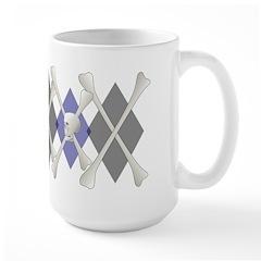 Argyle Jolly Roger Mug