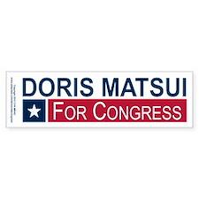Elect Doris Matsui Bumper Sticker