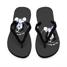 Bearded Collie IAAM Flip Flops