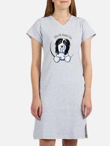 Bearded Collie IAAM Women's Nightshirt