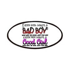 Bad Boy - Good Girl Patches