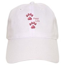 Puppy Love Baseball Baseball Cap