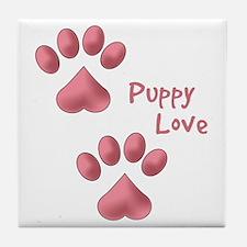 Puppy Love Tile Coaster