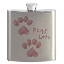 Puppy Love Flask