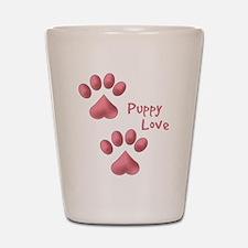 Puppy Love Shot Glass