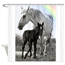 Mare Colt High Contrast Shower Curtain