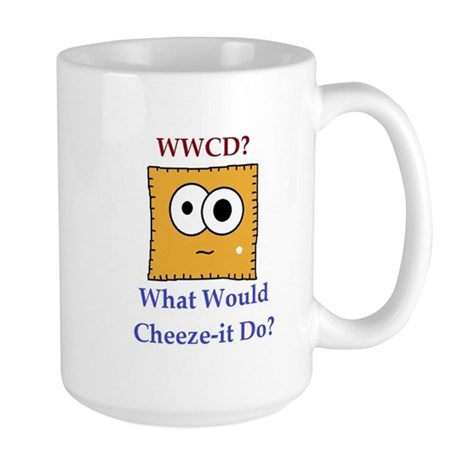 What Would Cheez-it Do? Mug
