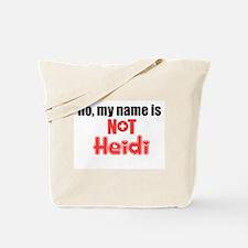 [heidi] Tote Bag