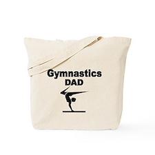 Gymnastics DaD Tote Bag