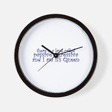 Passive Aggressiva Wall Clock