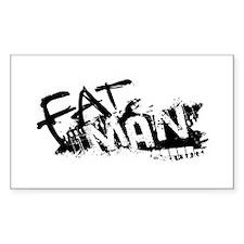 Fat Man Logo Decal