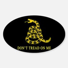 Don't Tread on Me Rectangle Decal
