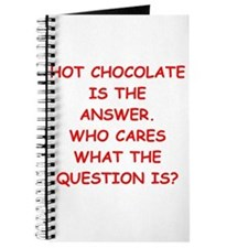 hot chocolate Journal