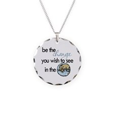 Be the change2 Necklace