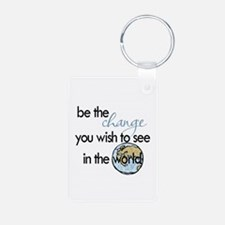 Be the change2 Keychains