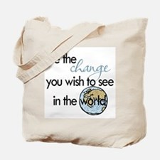 Be the change2 Tote Bag