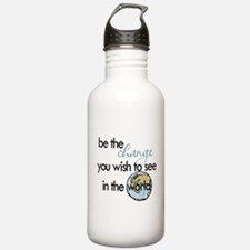 Be the change2 Water Bottle