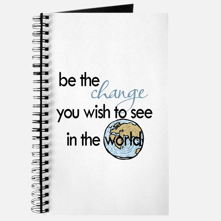 Be the change2 Journal