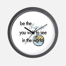 Be the change2 Wall Clock
